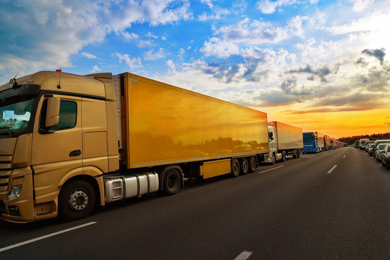 camioane trecere frontiera UE
