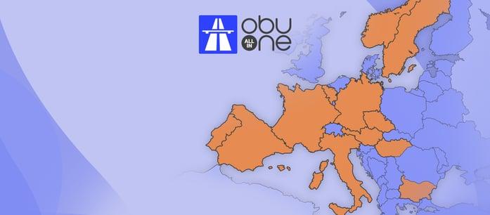 OBU All-In-One pentru plata taxelor de drum in Europa-1