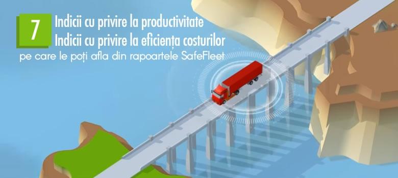 urmarire vehicule traseu, indici rapoarte safefleet