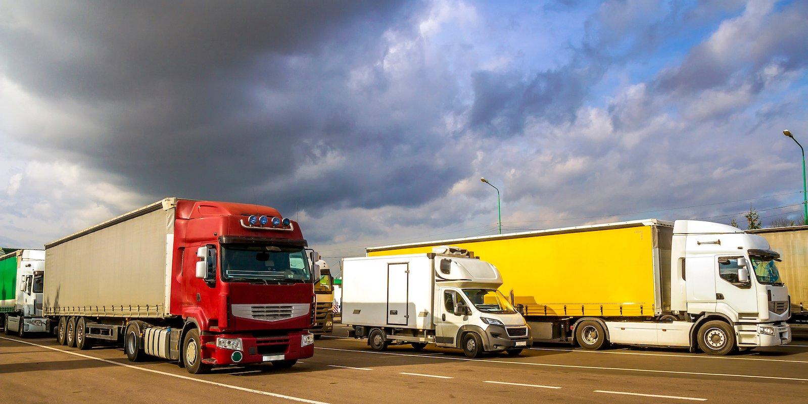 camioane flota transport international